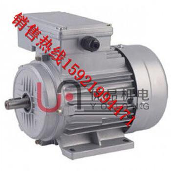 醫療器械常用YX3三項異步電動機立式大法蘭B5優昂直銷