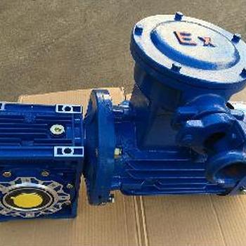 江西乐平市涡轮减速机匹配防爆电动机RV063/40-YB2-8024-0.75KW/B14