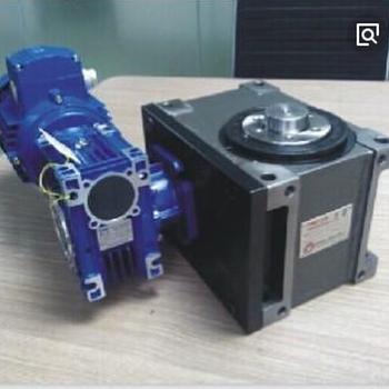 辽宁省大连市分割器配套上海优昂涡轮减速机RV075/50-F2+YEJ8024-0.75KW