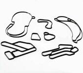 厂家定制,汽车橡胶制品,汽车冷凝器密封圈,密封圈