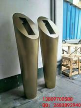 小区地产不锈钢门口机立柱对讲机立柱时尚款式图片