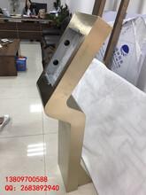 河南郑州S型香槟金门口机立柱厂家图片