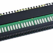 一体化24口配线架超五类网络配线架48口网络配线架整理器图片