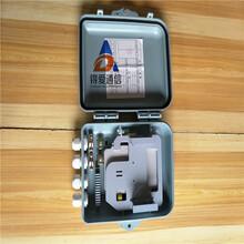 8芯分纤箱光分路器箱1分8室外插卡式分光箱8芯插片式光分路箱光纤光缆分纤箱楼道箱