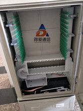 供应光缆交接箱144芯免跳接SMC光交箱电信配置图片