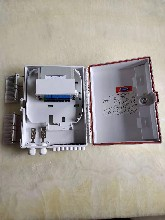 16芯分纖箱插片式分纖箱外貿款1分16分纖箱移動電信箱圖片