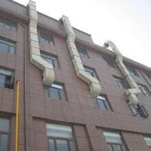 广州广旭专业安装厨房排烟管道通风管道施工图片