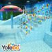 齐齐哈尔市供应儿童亚克力游泳池钢架构组装池婴幼儿泡泡池