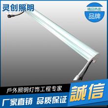 湖南郴州LED护栏管厂家发光均匀混色好灵创照明不错选择