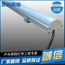 湖南郴州LED护栏管工厂家简约精致优质灯具户外必备-推荐灵创照明