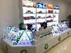 昆明烟草柜超市烟柜烤漆烟酒柜商场烟柜展示柜精品玻璃柜台