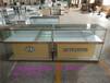石嘴山新款手机柜台三星小米金黄光土豪金手机柜台华为展示柜台玻璃柜台