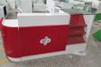 安庆彩票展示柜桌子刮刮乐玻璃柜收银台福彩彩票柜台投注站用品店吧台