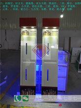 银川电子产品展示柜带锁装饰架展架储物摆件样品架货品