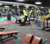 健身房专用橡胶地垫健身房防滑弹性地垫贴合橡胶地垫橡胶地板