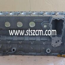 供应小松进口PC200-7发动机缸体,小松发动机中缸体总成