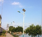 河南郑州6米30W锂电太阳能路灯
