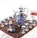 景德镇正品青花白酒酒具套装中式仿古龙泉青瓷陶瓷高档酒壶