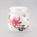 景德镇釉下粉彩陶瓷茶叶罐仿古高白泥喜鹊硬币存储罐通用