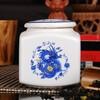 密封铁观音陶瓷罐家具将军罐陶瓷器摆件装饰品