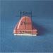长条形C069红色移印胶头长条形310CM红色移印胶头