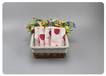 草莓純棉印花紗布