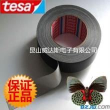 TESA4688黑色布基胶带德莎PE涂布胶带包装保护捆扎线束胶带图片