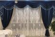 佛山禅城区新源一路家装窗帘制作客厅布艺窗帘定做上门测量