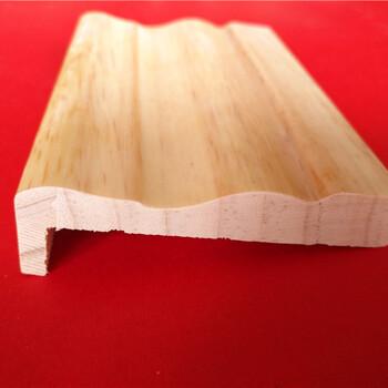 优质广东2.0厚实木涂泥门套线实木涂灰门套线斯柏林厂家