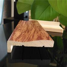 2017型號大全菏澤2.44米實木門套線橡膠木門套線批發圖片