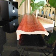 家裝木線條聊城小波浪2.8米木塑線條廠家直銷圖片