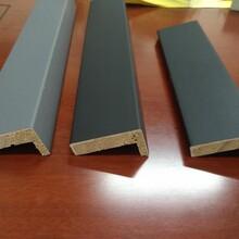 廣東無漆門套線實木免漆門套線純色膚感5分實木線條圖片