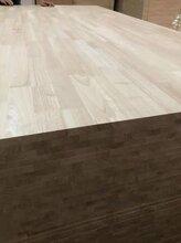 徐州橡胶木板批发橡胶木门板厂家泰国AA无节材厂家拼板图片