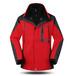 南昌秋冬季防风保暖冲锋衣,两件套,来图绣字定制企业工作服