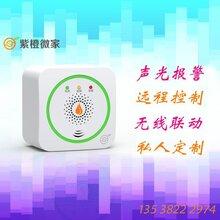 家用厨房燃气报警器智能可燃气体报警器的价格紫橙微家物联网图片