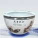 景德镇陶瓷鱼缸大号生态手绘荷花缸公司家用客厅招财风水落地大缸