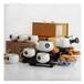 定做山水茶具套裝高檔骨瓷茶具冰裂紋陶瓷茶具紀念收藏品