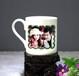 欧式简约马克杯复古带盖陶瓷杯办公室大容量水杯牛奶杯