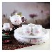 景德鎮陶瓷茶具骨瓷茶具套裝功夫茶具家用節日禮品