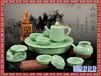 供应蓝牡丹茶具套装青花茶具颜色釉茶具节日庆典礼品陶瓷陈设品