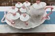 家用客厅欧式咖啡杯具套装简约骨瓷咖啡杯杯碟