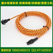 ASC2100漏水检测线缆机房漏水检测系统水浸感应绳两芯不定位检测线