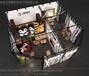 南京国际礼品工艺品展展台搭建、桁架搭建、展柜制作