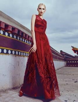 阿丹娜奢华品牌女装时尚国际服饰贸易批发