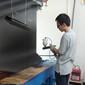 天津油漆厂打样静电喷枪HDA-100实验室打样专用静电喷枪