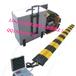 智盾科技减速带阻车路障ZE-56全自动足协和路障