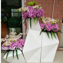商场酒店办公室花盆带花艺组合花盆龙翔玻璃钢工艺