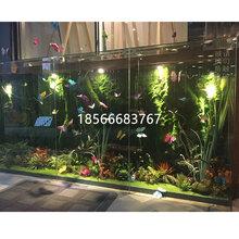 仿真植物墙花艺工程花墙小区庭院仿真绿植
