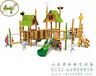 坚固耐用木制滑梯青岛儿童滑梯YH-9B01A