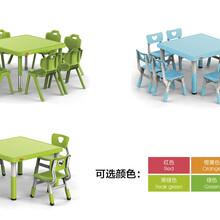 山东亚恒YH-2Q01D幼儿园塑料桌椅幼儿桌椅批发儿童桌椅多功能儿童餐桌图片